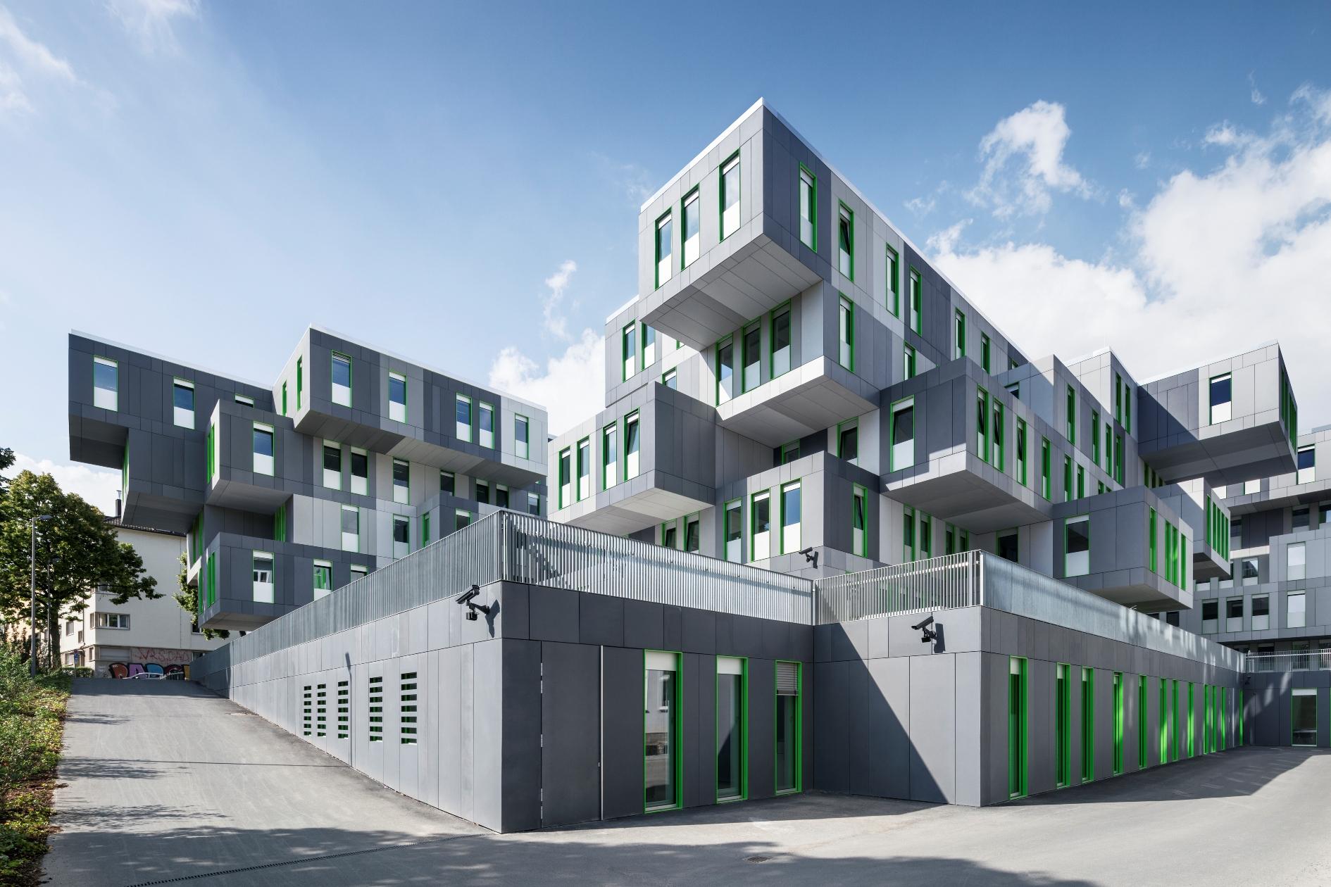 fischer friedrich neubau studenten service center der universit t k ln. Black Bedroom Furniture Sets. Home Design Ideas